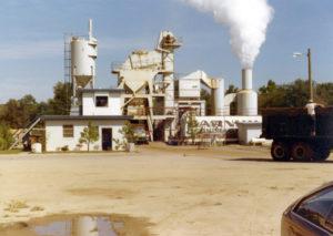 1966 - Barnhill's First Asphalt Plant