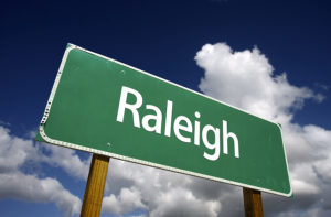 Raleigh Sign