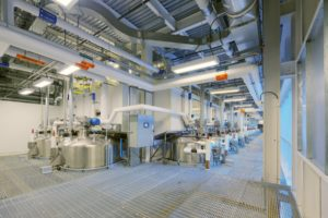 Fractionalization Facility Interior