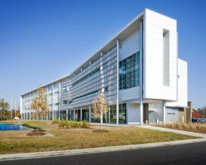 ECSU Pharmacy School Exterior