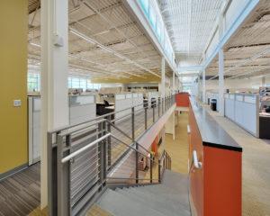 Research & Development Center Office Upstairs Open Air