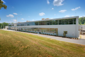 Research & Development Center Exterior Back
