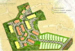 Ramblewood Site Plan