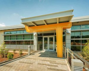 Research Development Center Entrance