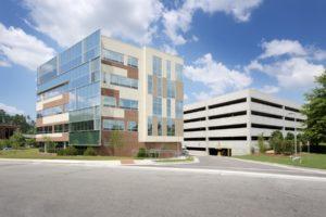 BlueCross BlueShield of NC Headquarters Exterior Far