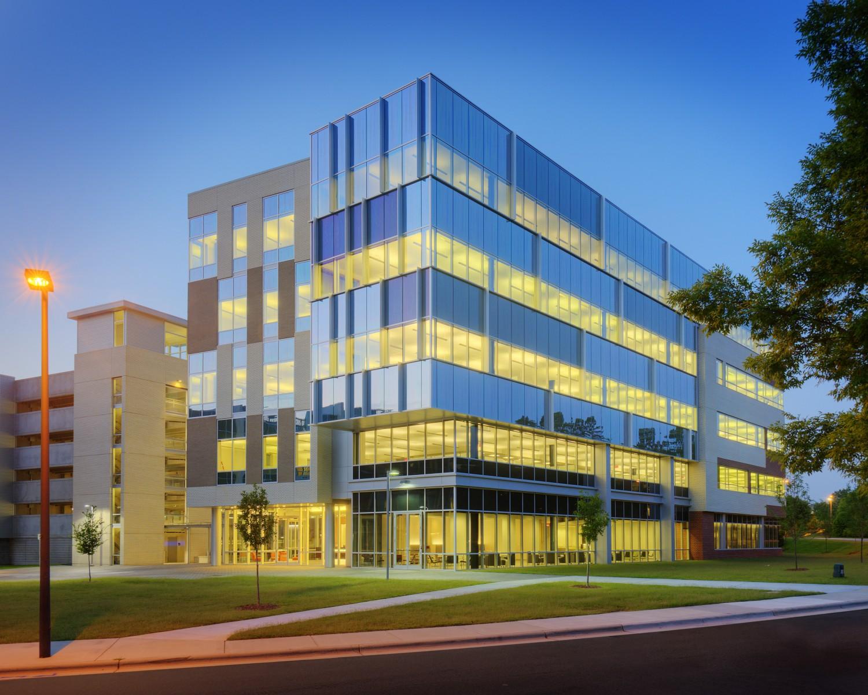Bluecross Blueshield Office Building Architecture For Bluecross Blueshield Of Nc Headquarters Barnhill Contracting Company