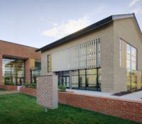 Triangle Brick Headquarters Exterior Side Louvers