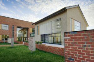 Triangle Brick Headquarters Exterior Side Louvers 2