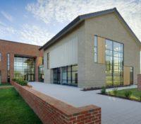 Triangle Brick Headquarters Exterior Side Louvers 3