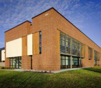 Triangle Brick Headquarters Exterior Side Opposite