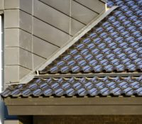 Triangle Brick Headquarters Roof Close
