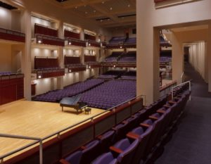 Duke Energy Center Meymandi Concert Hall Piano