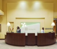 Holiday Inn Rocky Mount Interior Guest Registration