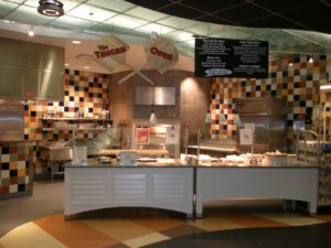 UNCW Student Union Tuscan Oven