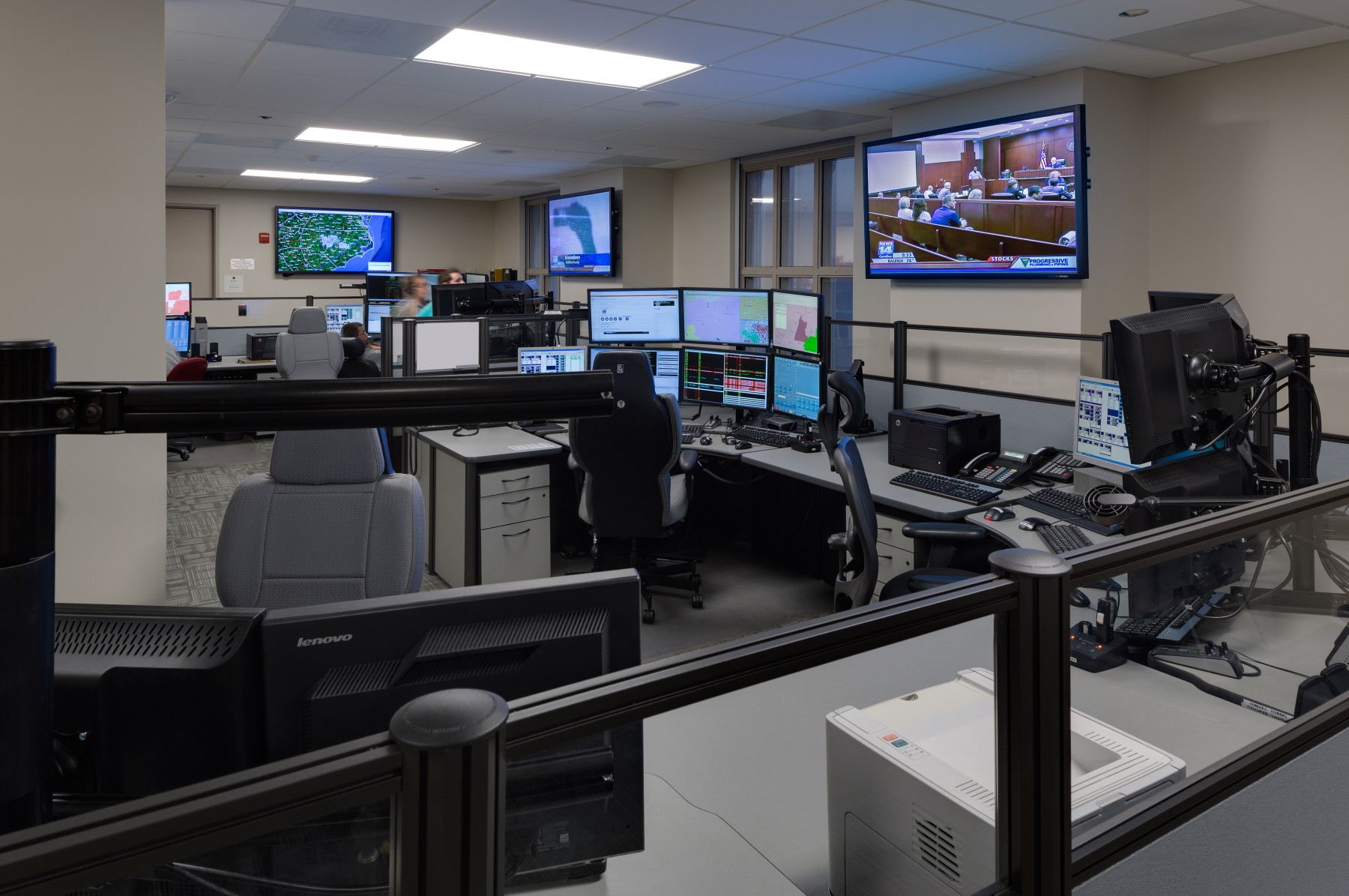 Wake County Public Safety Center Barnhill Contracting
