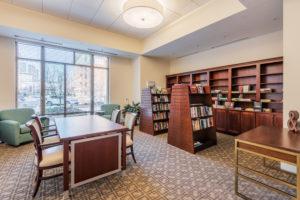 Cardinal at North Hills Library