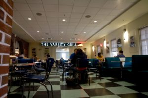 UNCW Student Union Varsity Grill