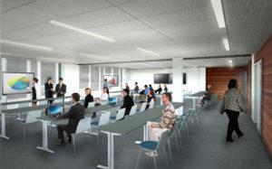 Confidential Client HQ Training Rooms