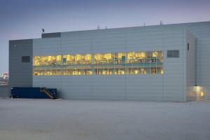 Fractionation Facility Back Close