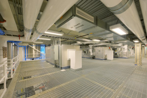 Fractionation Facility Interior Floor