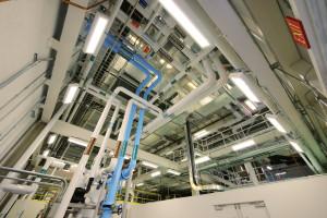 Fractionation Facility Interior Piping