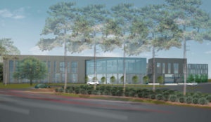 LGCFU Exterior Wake Forest Road Rendering
