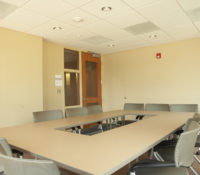 UNC Residence Halls Phase II Interior Meeting Room