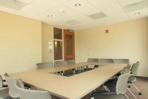 UNC Residence Halls Phase II Interior Meeting Room