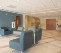 UNC Residence Halls Phase II Lobby