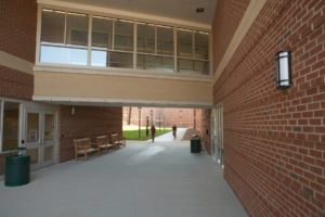 UNC Residence Halls Phase II Walkway