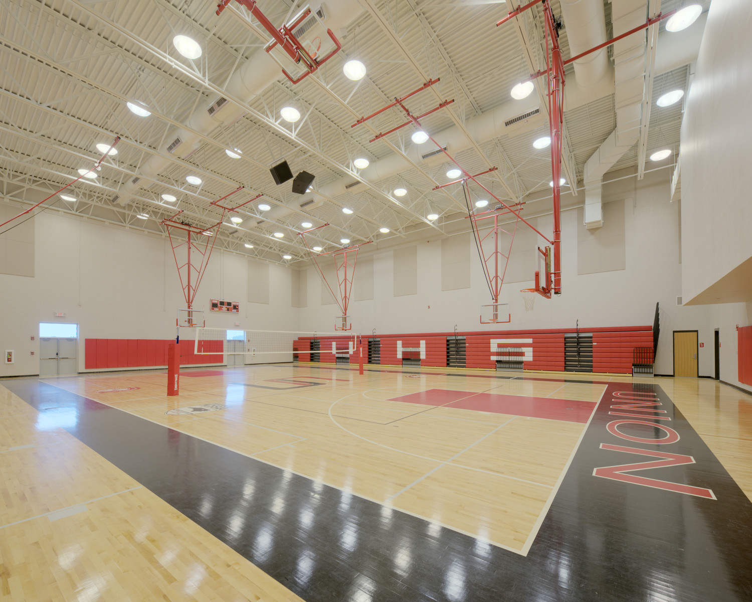 Classroom Layouts ~ Union and midway high schools barnhill contracting company