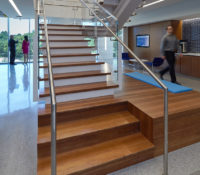 Local Government Federal Credit Union Interior Stairs Commercial Office