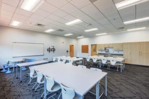 Asheville Middle School Collaborative Space K-12 education