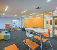 Asheville Middle School Collaborative Space K-12 education