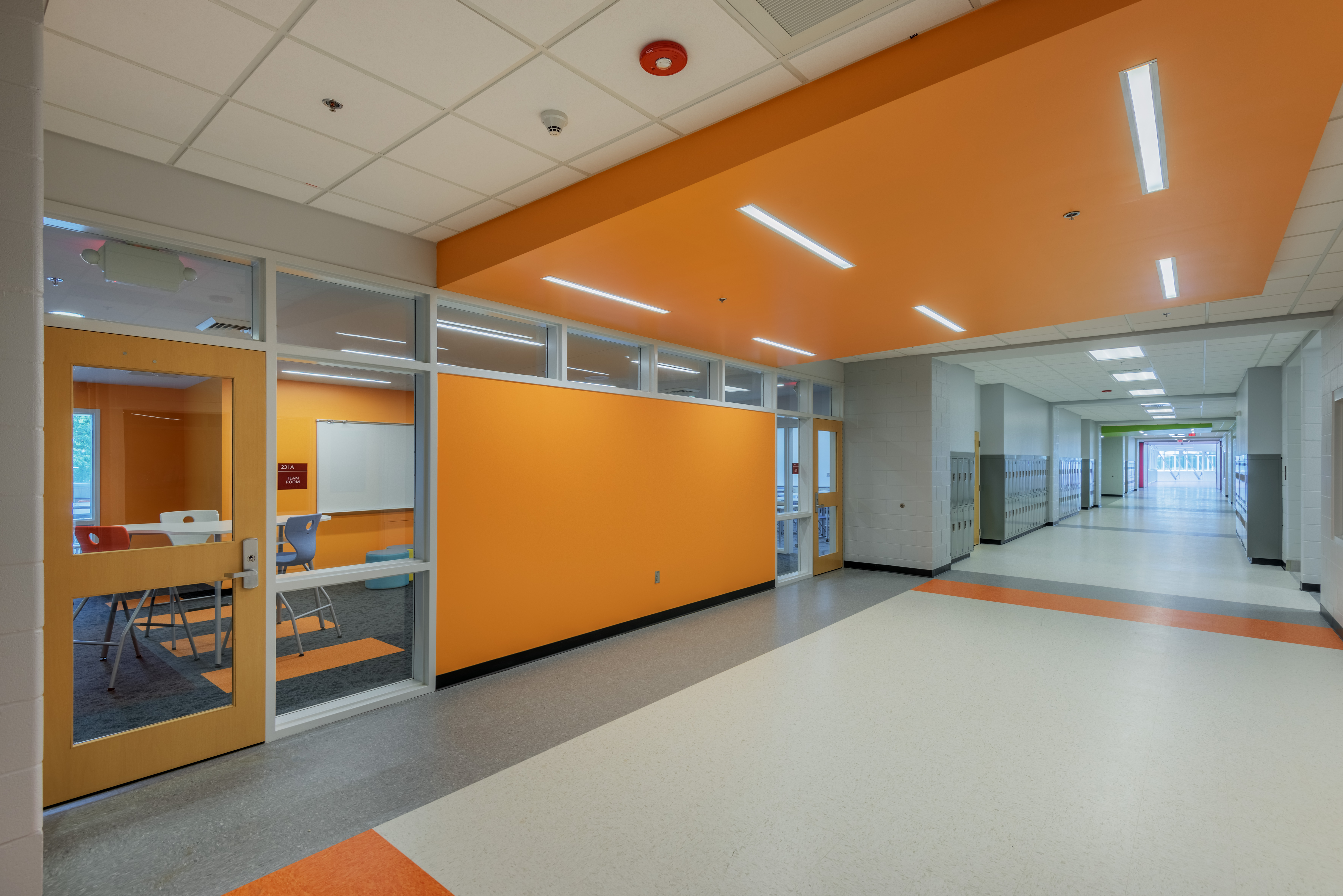 Asheville middle school barnhill contracting company - Interior design school nashville ...