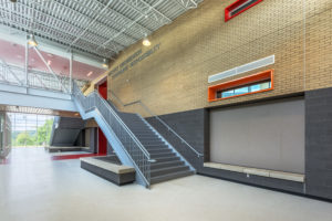 Asheville Middle School Main Stair Up K-12 education