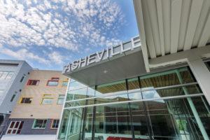 Asheville Middle School Exterior Front