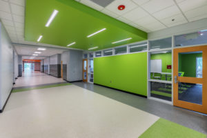 Asheville Middle School K12 Education Hallway