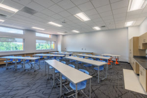 Asheville Middle School Classroom