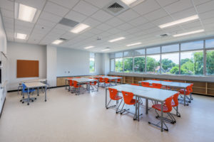 Asheville Middle School K12 Education Classroom