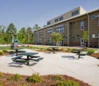 Alston Ridge Elementary Exterior Side