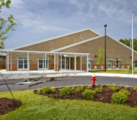 Alston Ridge Elementary Exterior Entrance