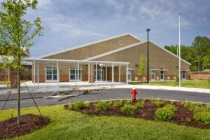 Alston Ridge Elementary Exterior Entrance