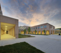 ern Guilford HS Exterior Sunset 2