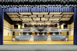 ern Guilford HS Auditorium Stage