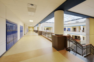 Eastern Guilford HS Upstairs Hall
