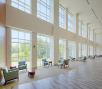 ECU Family Medicine Center Lobby Windows