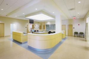 ECU Family Medicine Center Exam Nurses Station