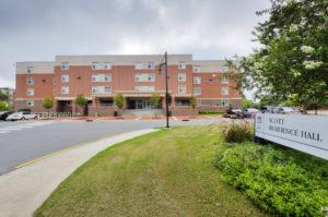 ECU Scott Residence Hall Exterior Back