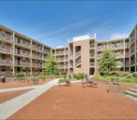 ECU Scott Residence Hall Exterior Brickyard